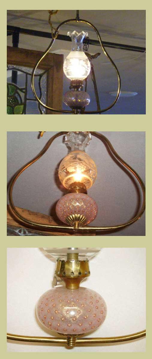 アンティーク 照明 ランプ(すでに組み合わせられている照明) ランプAssy ハンギング