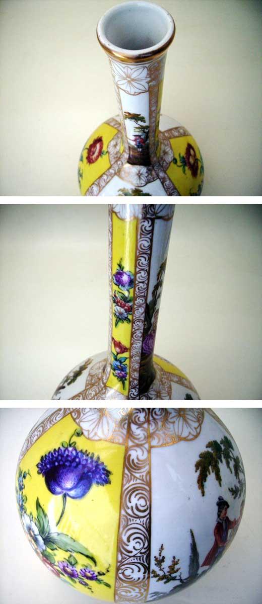 バーズ(花器) マイセン・ドレスデン ペア アンティーク 陶磁器 マイセン・ドレスデン コレクション