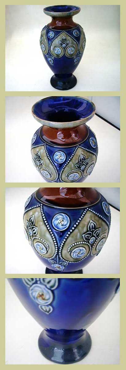 ロイヤルドルトン(Royal Doulton) バーズ(花器) アンティーク 陶磁器 その他