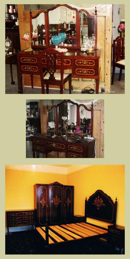 ドレッサー&チェアー,アンティーク 家具,サイドボード・チェスト・ドレッサー