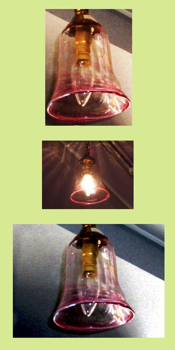 シェード クランベリー,アンティーク 照明,シェード
