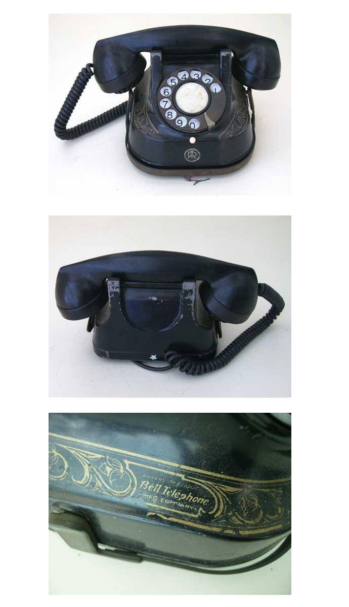 ビンテージ/コレクタブル 機械もの 電話機