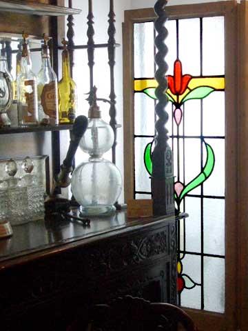 ステンドグラス (1枚) アンティーク 建材 ステンドグラス