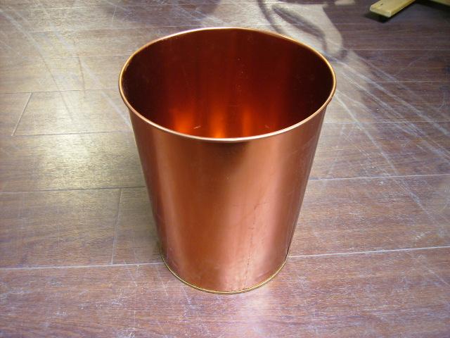 アンティーク その他 銀・銅製品ほか ゴミ箱