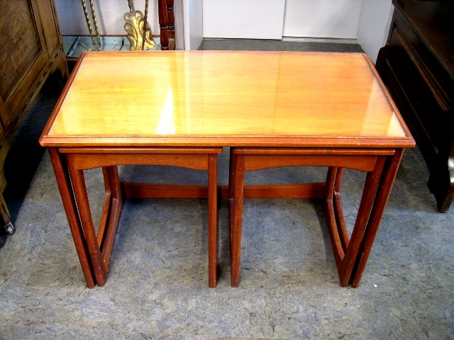 ネストテーブル ミッドセンチュリー アンティーク 家具 テーブル・ダイニングセット