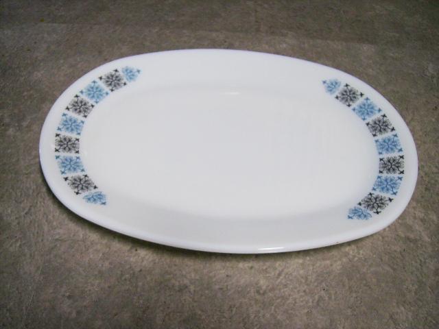 英国JAJ社製(Chelsea) ソーサー(大) アンティーク ガラス テーブル&キッチンウェア