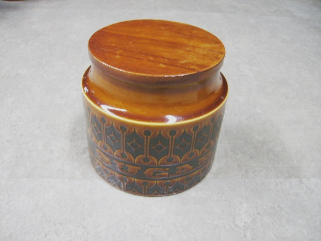 ホーンジー (Hornsea) シュガー&コーヒー&ティー 3点セット Heirloom アンティーク 陶磁器 雑貨陶器