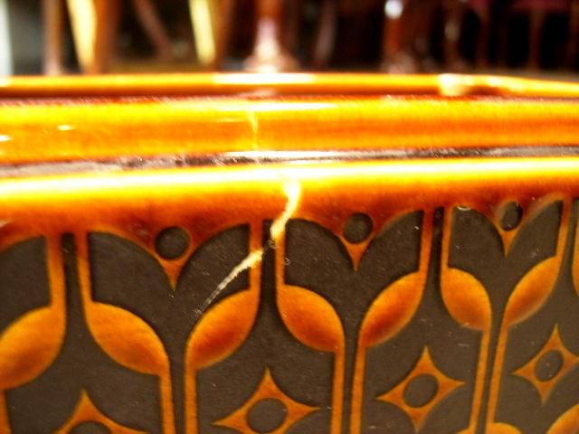 ホーンジー (Hornsea) バターケース Heirloom アンティーク 陶磁器 雑貨陶器