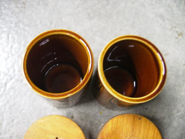 雑貨(キッチン) 雑貨陶器 ホーンジー (Hornsea) ソルト&ペッパー Heirloom