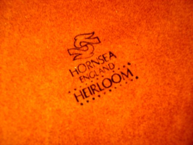 雑貨(キッチン) 雑貨陶器 ホーンジー (Hornsea) シュガーポット  Heirloom