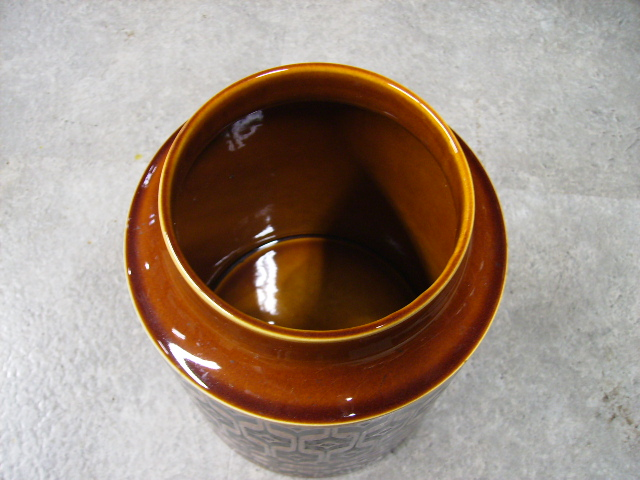 雑貨(キッチン) 雑貨陶器 ホーンジー (Hornsea) ビスケットポット Heirloom