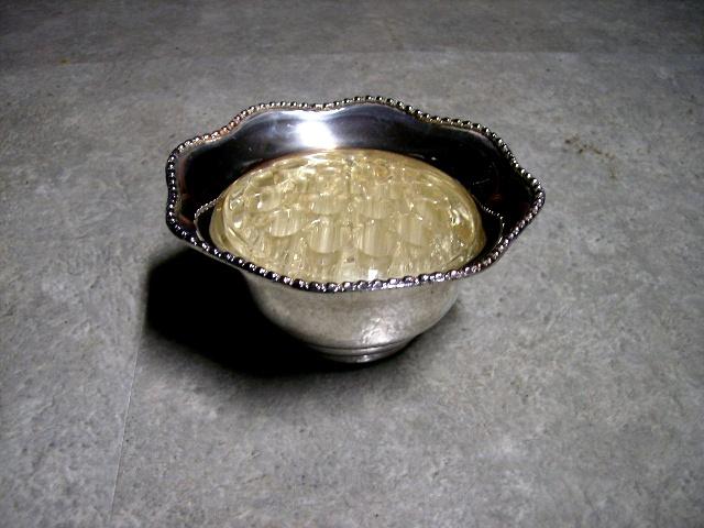 バーズ(花器)(アレンジメント用) シルバープレート アンティーク その他 銀・銅製品ほか