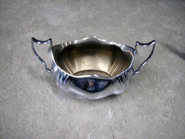 アンティーク その他 銀・銅製品ほか シルバープレート ポット&シュガーポット&ミルクジャグ 3点セット