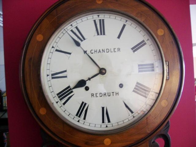掛け時計 W.CHANDLER,アンティーク 時計,時計 アンティーク/ビンテージ