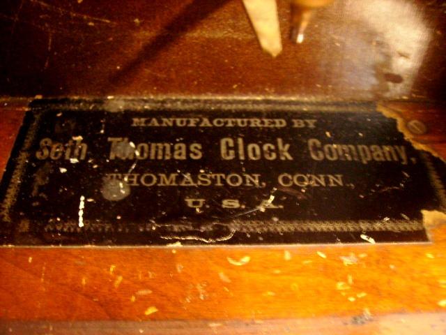 ビンテージ/コレクタブル 時計 掛け時計 seth Thomas Clock Company