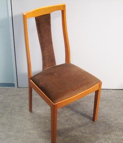 アンティーク 家具 テーブル・ダイニングセット ミッドセンチュリー テーブル+イス6脚付き セット