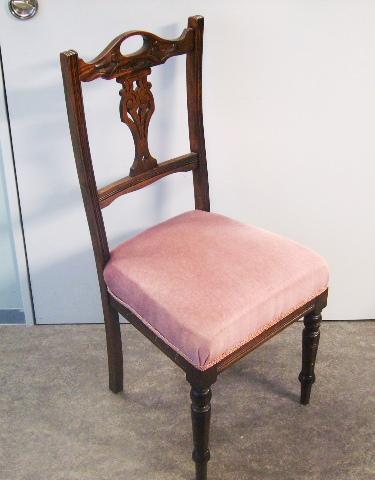 チェアー ピンク 4脚セット,アンティーク 家具,チェア・ソファー