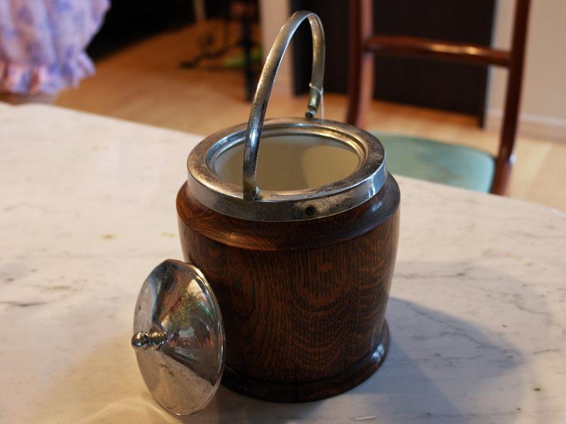 雑貨(パブ・グッズ) テーブル用品 アイス バレル/ビスケット バレル(樽型容器)