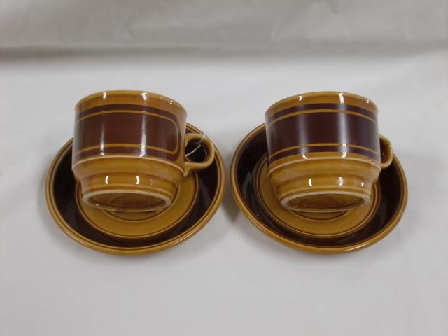 雑貨(キッチン) 雑貨陶器 カップ&ソーサー 2客セット