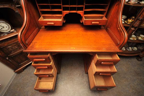 ダービーデスク(Derby Desk) ロールトップデスク,アンティーク 家具,デスク・ビューロー