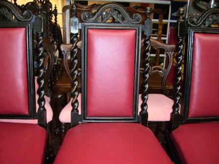 チェア 4脚セット 張替え済み,アンティーク 家具,チェア・ソファー