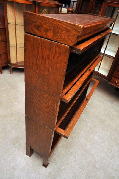 スタッカブル 3段キャビネット,アンティーク 家具,キャビネット・ショーケース