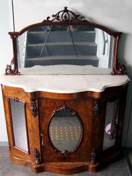 アンティーク 家具 サイドボード・チェスト・ドレッサー シフォニア ミラーバックサイドボード