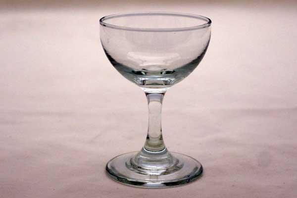 アンティーク ガラス クリアー系 ワイングラス 6点セット(透明)