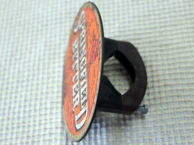 雑貨(パブ・グッズ) カウンター用品 ビア・ハンドル用プレート(Springfield Bitter)