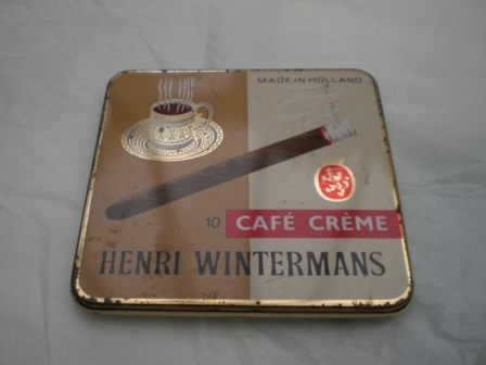 雑貨(ホビー) ティン(缶) CAFE OREME HENRI WIN TERMANS