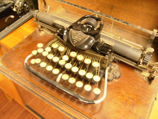BLICK9&10 CHEAP SIDE 7  タイプライター 箱付き,タイプライター・ミシン・機械もの類,