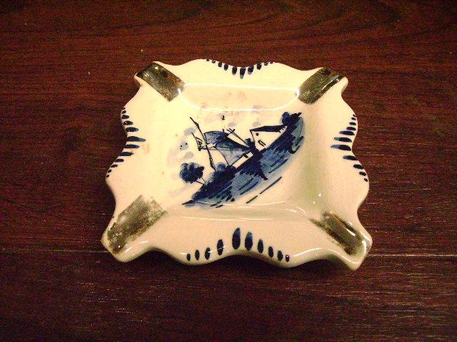 雑貨(パブ・グッズ) 灰皿 灰皿 (Delft デルフト)