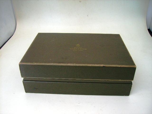 アンティーク 陶磁器 食器 カップ&ソーサー他 ロイヤルウースター(Royal Worceter) カップ&ソーサー6脚セット 箱入り 未使用