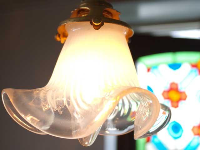 アンティーク 照明 シェード シェード ホワイト