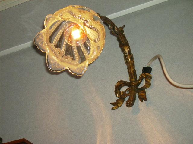 アンティーク 照明 ランプ用ブラケット(テーブル・ウォール用等) ウォールランプ・ブラケット
