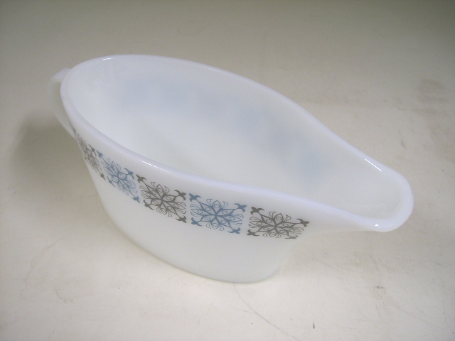 英国JAJ社製(Chelsea) ソースジャー アンティーク ガラス テーブル&キッチンウェア