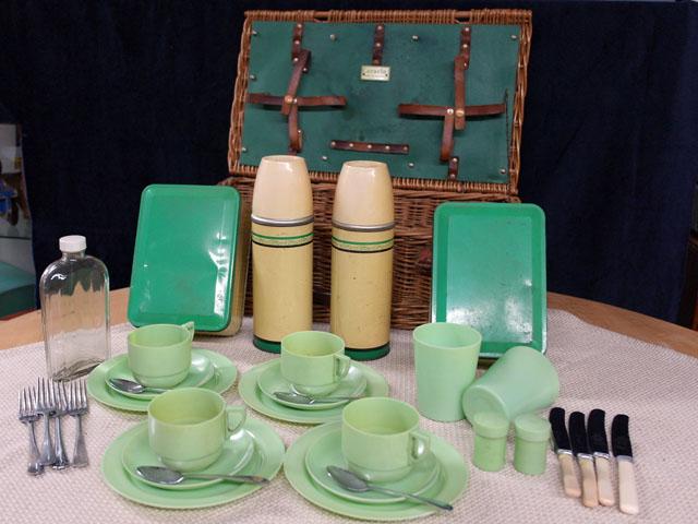 ピクニックセット Coracle 雑貨(道具・ガジェット) トランク/ピクニック