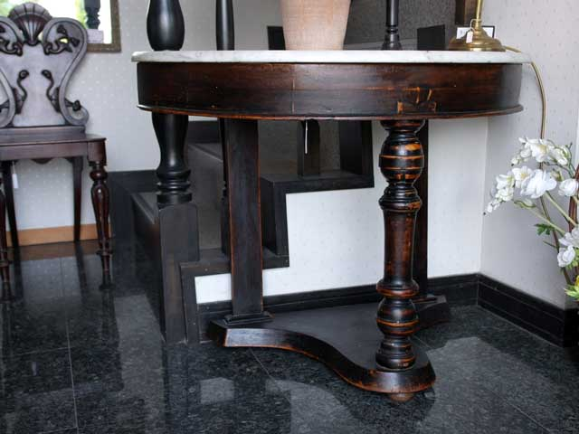 アンティーク 家具 テーブル・ダイニングセット ホールスタンド(小) 半円