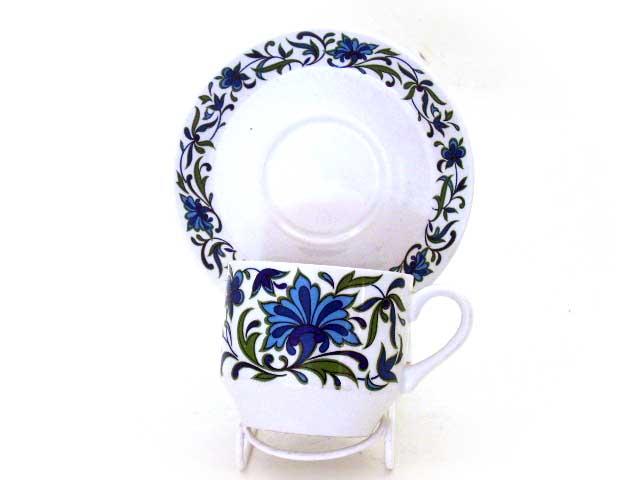 雑貨(キッチン) 雑貨陶器 Midwinter(ミッドウィンター) コーヒーカップ&ソーサー 3セット