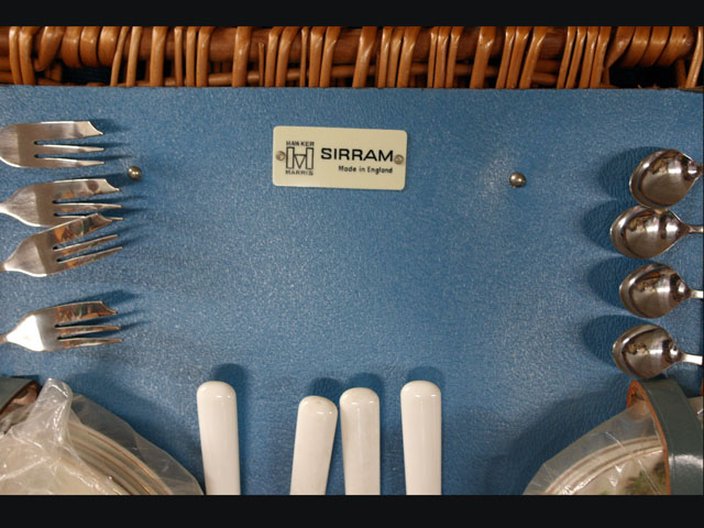 ピクニックセット Sirram(デッドストック・新品・未使用) 雑貨(道具・ガジェット) トランク/ピクニック