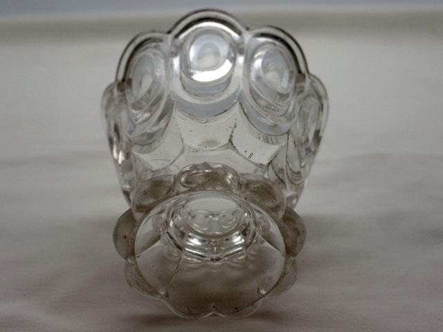 雑貨(キッチン) テーブル&キッチンウェア プレスガラス コンポート