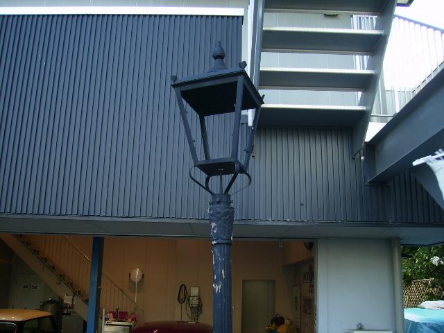 街灯(ストリート ランプ) 土台 キャストアイロン,アンティーク 照明,ランプ(すでに組み合わせられている照明)