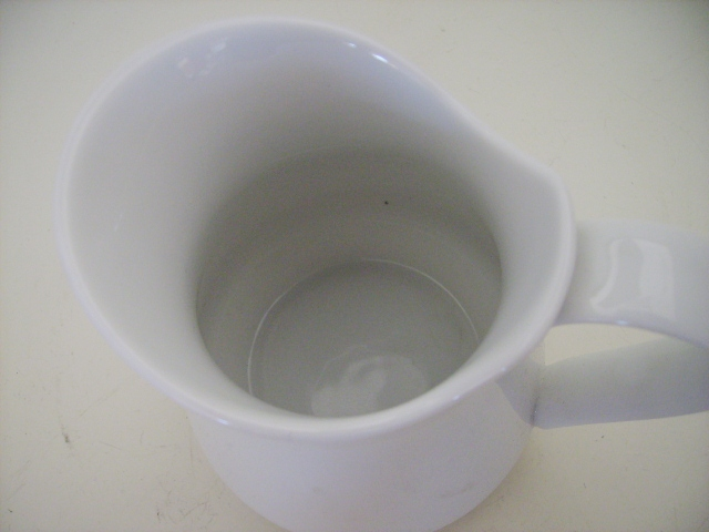 雑貨(キッチン) 雑貨陶器 ミルクジャー(大)