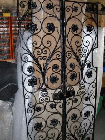 アンティーク 建材 ドア アイアン ドア