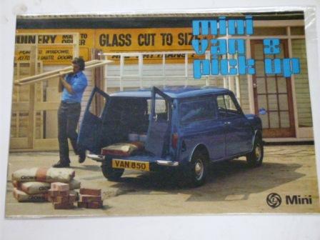 カタログ BL Mini Van & Pick-up オリジナル 当時物 オートモビリア 印刷物 カタログ