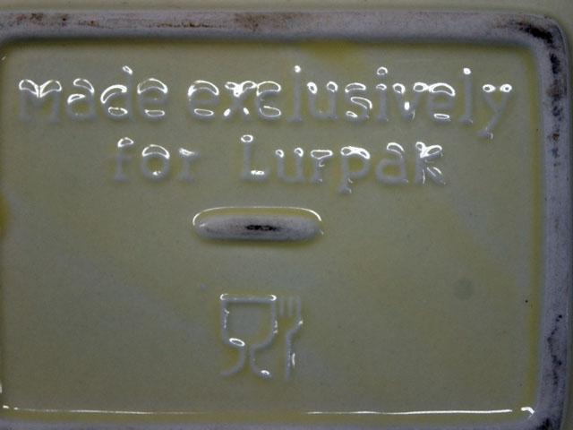 雑貨(キッチン) 雑貨陶器 LURPAK バターケース