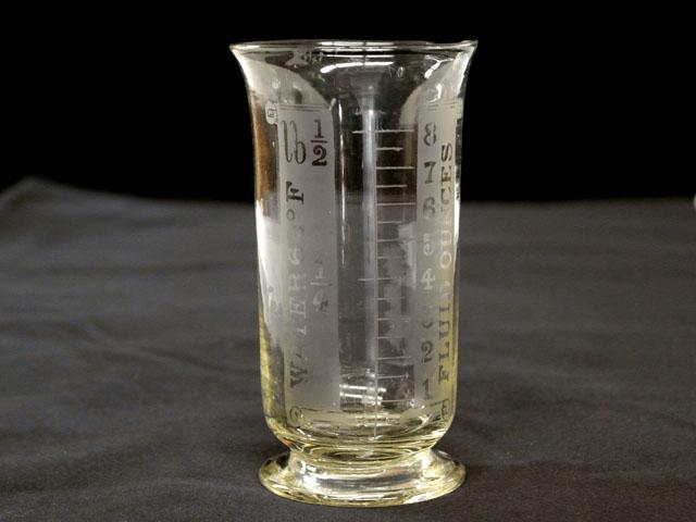 雑貨(キッチン) テーブル&キッチンウェア ガラス メジャーカップ(小)