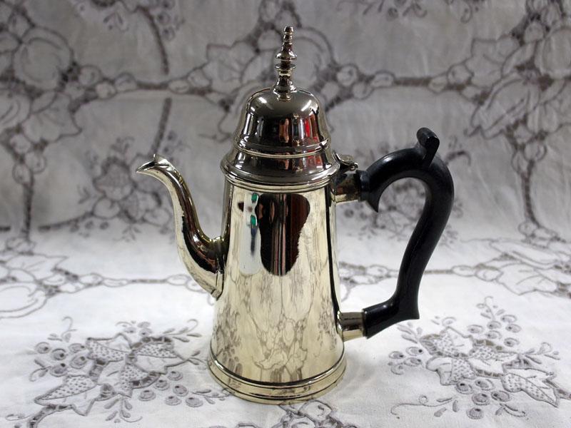 コーヒーポット シルバープレート アンティーク その他 銀・銅製品ほか