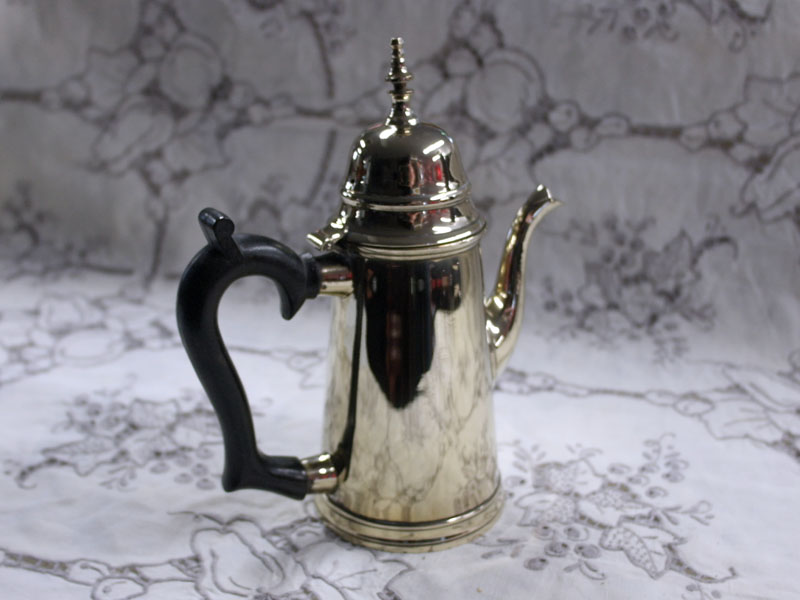 アンティーク その他 銀・銅製品ほか コーヒーポット シルバープレート