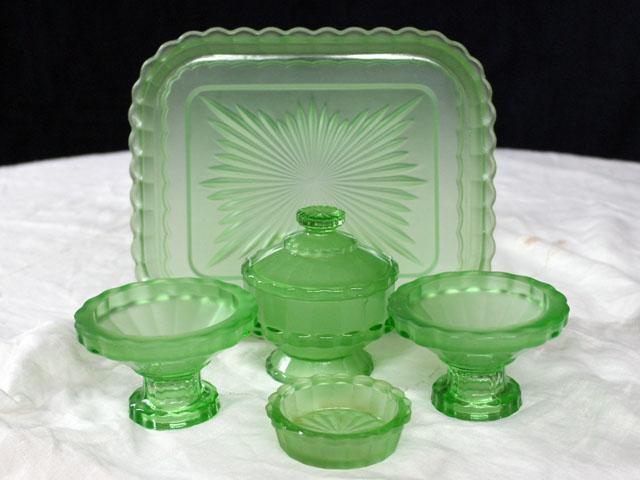 雑貨(キッチン) 雑貨ガラスほか パヒュームセット